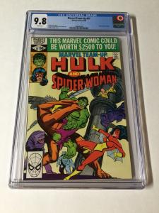 Marvel Team Up 97 Cgc 9.8 White Pages