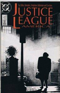 Justice League of America #27 ORIGINAL Vintage 1989 DC Comics Exorcist Homage