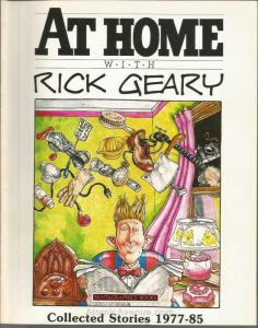 At Home With Rick Geary #1 FN; Fantagraphics | save on shipping - details inside