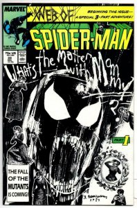 WEB of SPIDER-MAN #33, VF/NM, Black Suit, 1985 1987, more Marvel in store
