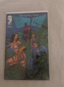 Lot of 2 Image Comics Weapon Zero #T-1 (Fourth Issue) T-2 (Third Issue) NM