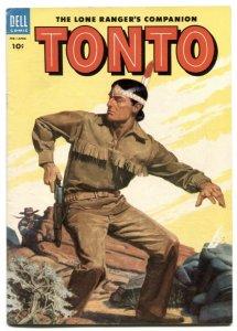 Tonto #14 1954- Dell Western- Lone Ranger's companion FN+