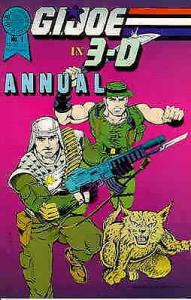 G.I. Joe in 3-D Annual #1 VG; Blackthorne   low grade comic - save on shipping -