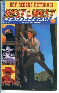 BEST OF THE WEST #15 2000-AC-ROY ROGERS-TIM HOLT-DURANGO KID-LASH LARUE-nm