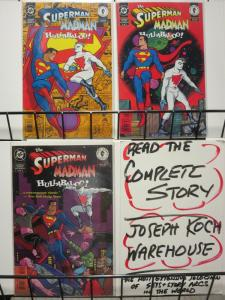 SUPERMAN MADMAN HULLABALOO (1997 DC/DH) 1-3THE SET!