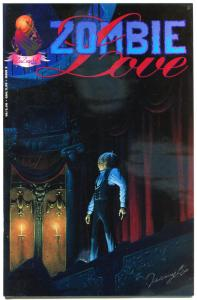ZOMBIE LOVE #3, VF/NM, Undead, Signed Jeremy Cox, 1992, more Horror in store