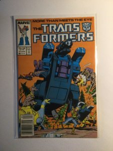 Transformers 27 Near mint nm newsstand edition Marvel