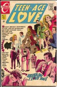 Teen-Age Love #71 1970-Charlton-Jonnie Love-spicy art-VG/FN