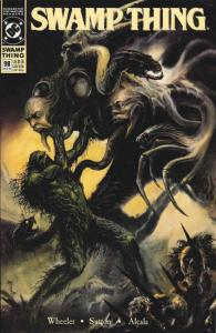 Swamp Thing (2nd Series) #98 FN; DC | save on shipping - details inside