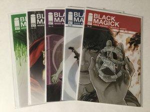 Black Magick 1-5 1 2 3 4 5 Lot Nm Near Mint Image