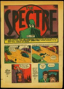 More Fun Comics #62 1940- Spectre - Dr Fate- Congo Bill coverless copy