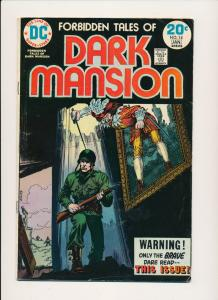DC Comics Forbidden Tales of DARK MANSION #14 ~ VG 1974 (PF539)
