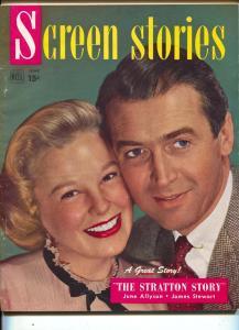 Screen Stories-June Allyson-James Stewart-Kirk Douglas-Gregory Peck-June-1949