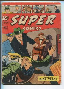 SUPER  #81 1945-DELL-DICK TRACY-MOON MULLINS-CLYDE BEATTY-WWII-SMITTY-vg