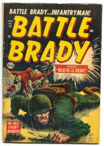 Battle Brady #12 1953- DEATH TO THE REDS-  VG+