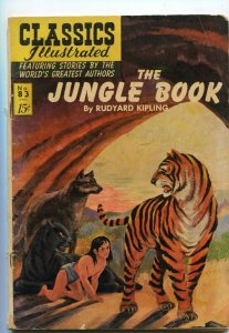 Classics Illustrated  83 GD/VG- Jungle Book  1st Edition