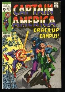 Captain America #120 FN/VF 7.0