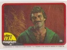 1983 Donruss MAGNUM P.I. #26