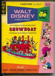 Walt Disney Comic Digest #41 1973-Mickey-Donald-Goofy-FN