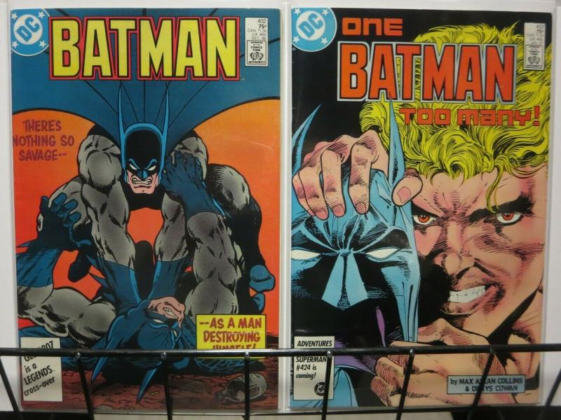 BATMAN 402-403 One Batman Too Many STARLIN