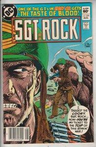 Sgt. Rock #379 (Aug-83) NM- High-Grade Sgt. Rock, Easy Co.
