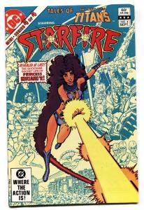 TALES OF THE NEW TEEN TITANS #4 comic book -STARFIRE-NM--HIGH GRADE-