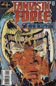 Fantastic Force #9 VF; Marvel | save on shipping - details inside