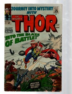 Journey Into Mystery # 117 FN- Marvel Comic Book Thor Loki Odin Asgard Sif RB8