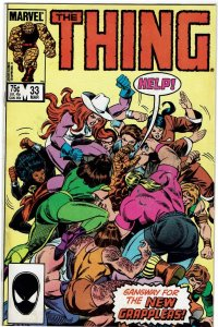 Thing #33 (1983 v1) Grapplers NM-