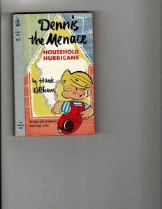 5 Dennis the Menace Books Household Hurricane Teacher Babysitters Guide + JK17