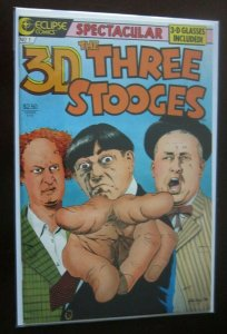 3D Three Stooges #1 W with glasses 8.0 VF (1986)