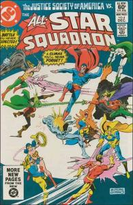 DC ALL-STAR SQUADRON #4 VF