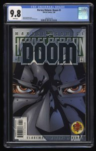 Heroes Reborn: Doom #1 CGC NM/M 9.8 White Pages