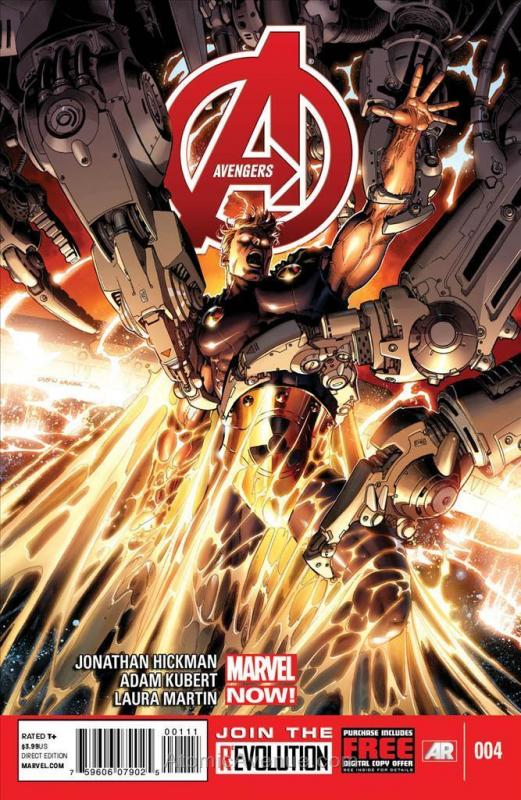 Avengers (5th Series) #4 VF/NM; Marvel | save on shipping - details inside