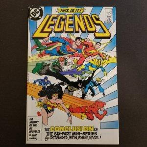 Legends #6- Part 6 of 6 part Mini-Series