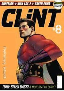 Clint (2nd Series) #8A VF/NM; Titan | save on shipping - details inside