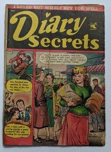 Diary Secrets #14 (Oct 1952, St. John) Good- 1.8 Matt Baker cover