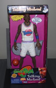 Space Jam 16' Talking Michael Jordan Figure MINT 1996