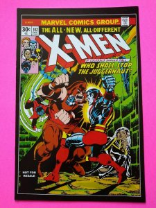 X-Men #102 Juggernaut app, Storm Origin, 1976 story, 2012 Hasbro Toy Reprint