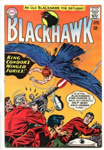 BLACKHAWK #209 1965-DC-KING CONDOR-vf+