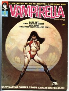 Vampirella #1-1969  Frazetta Neal Adams- 1st appearance- Warren Magazine