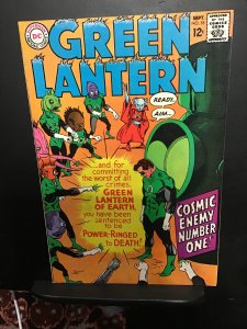 Green Lantern #55 (1967) High-grade Green Lantern Corps cover! VF/NM Wow!