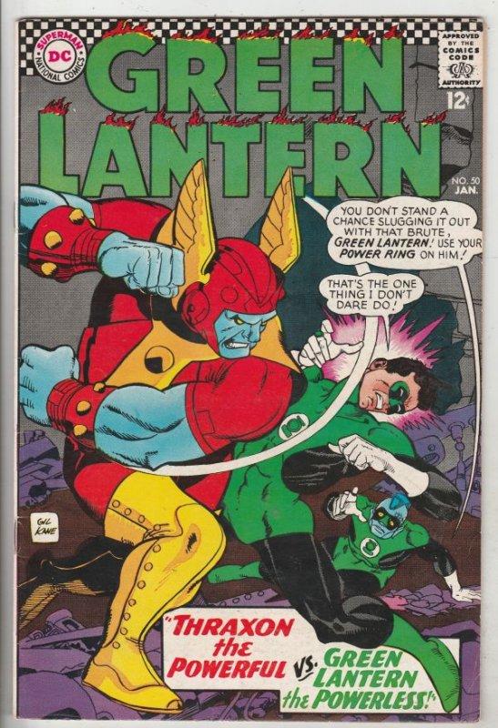 Green Lantern #50 (Jan-67) VF/NM High-Grade Green Lantern