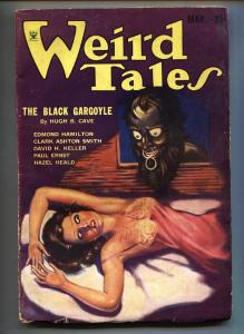 Weird Tales 3/1934-Hugh B Cave-Margaret Brundage-Pulp Magazine