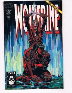 Wolverine #43 VF Marvel Comics Comic Book X Men Aug 1990 DE24