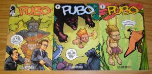 Pubo #1-3 VF/NM complete series - leland purvis - dark horse comics set lot 2