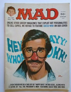 MAD Magazine Happy Days Fonzie Cover Dec 1976 No 187 All The Presidents Men