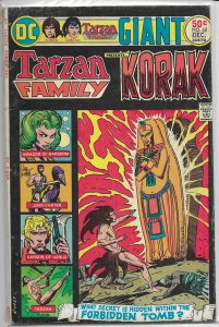 Tarzan Family   #60 GD/VG Korak, Joe Kubert cover