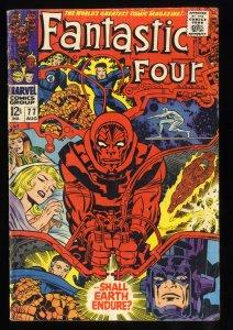 Fantastic Four #77 VG 4.0 Silver Surfer Galactus!