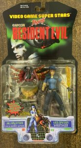 RESIDENT EVIL: JILL VALENTINE & WEB SPINNER ACTION FIGURE Mint on Card- Capcom